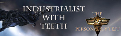 Industrialist with teeth